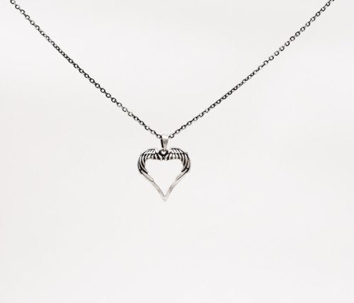 Mystica Collection Jewelry Necklace - Heart Wings