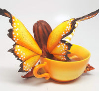 Pacific Giftware Amy Brown Autumn Comfort Cup Fairy Fantasy Art Figurine Collectible 4.75 inch