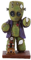 Pacific Giftware 4 Inches Pinhead Monster Frankenstein Steampunk Clock Doll