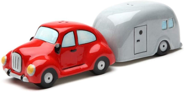 Car and Trailer Magnetic Ceramic Salt & Pepper Shaker