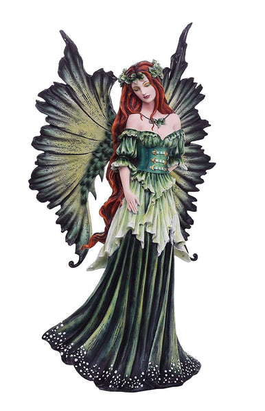 "Pacific Giftware Large 18"" Tall Fantasy Lady of The Forest Fairy Decorative Statue by Artist Amy Brown"