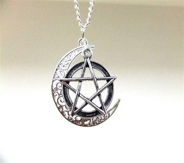 Lead-free pewter Necklace - Pentacle