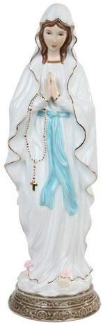16 Inch Our Lady of Lourdes Religion Religious Statue Figurine