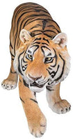 "55.1"" Long Realist Look Large Tiger Resin Figurine Statue"