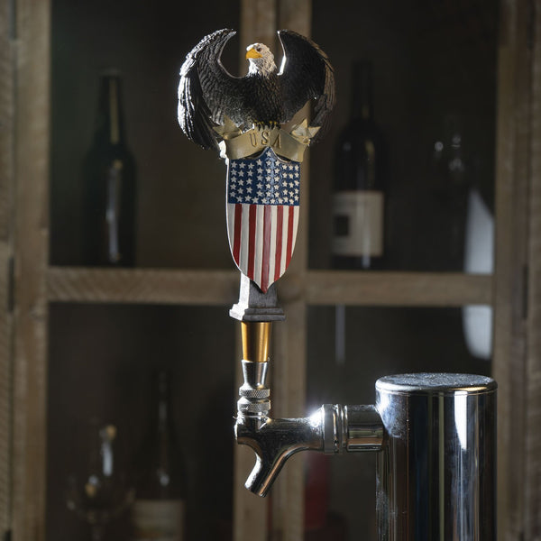 Great American USA Patriot Eagle Shield Beer Tap Handle