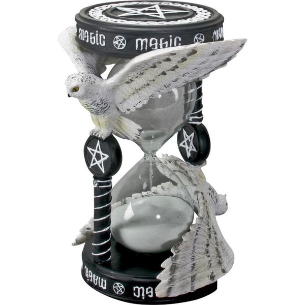 PACIFIC GIFTWARE Magical 3D Owl Figurine Statue Sandtimer