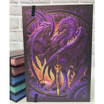 BOTEGA EXCLUSIVE Ruth Thompson Nether Blade Dragon Embossed Journal