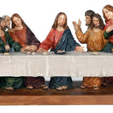 PACIFIC GIFTWARE The Last Supper Da Vinci Inspiration Tabeltop Figurine Decorative Gift 12 inch L