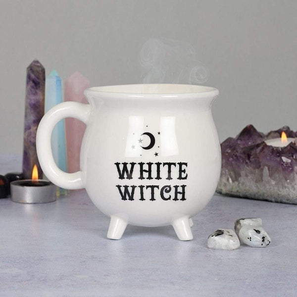 SUMMIT COLLECTION 12 fl oz Witch's Brew Cauldron Mug Ceramic Drinkware Halloween Decor Tabletop Decoration
