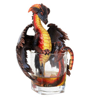 "Fantasy Rum Dragon Collectible Figurine by Stanley Morrison 6.75""H"
