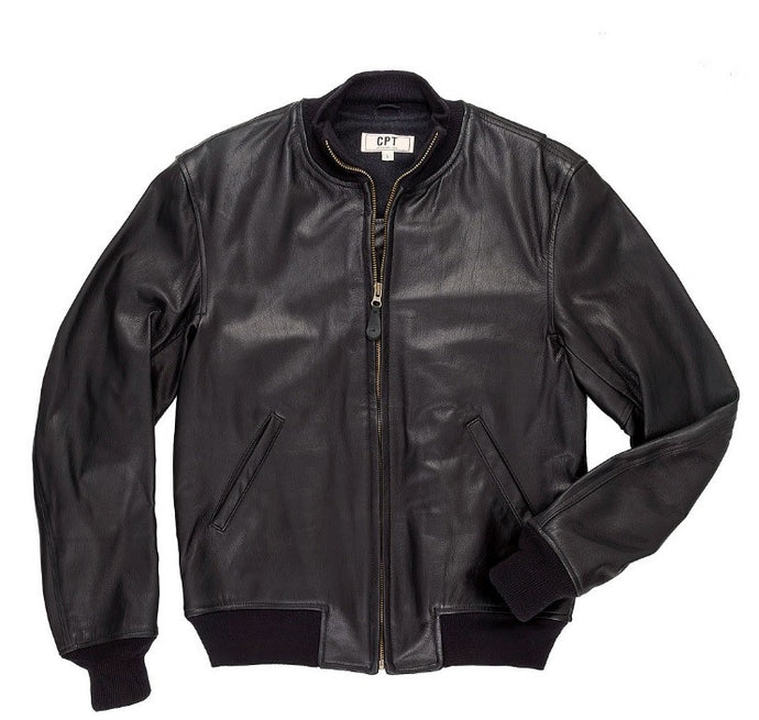 Leather Tanker Jacket