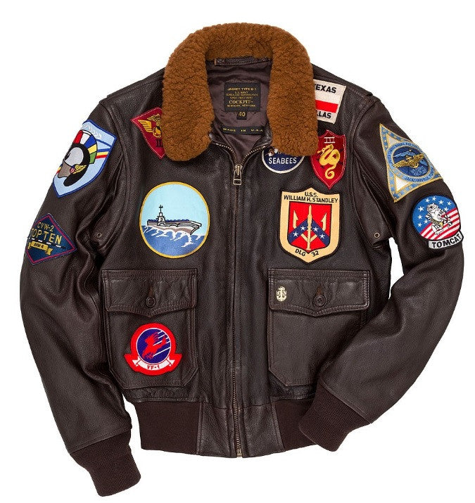 Top Gun Navy G-1 Jacket