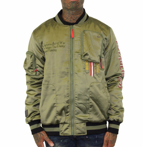 A Peace of War Bomber Jacket