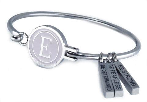 "E-Logo ""Inner Strength"" Motivational Bracelet"