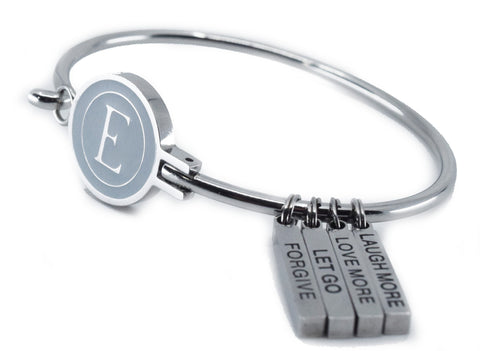 "E-Logo ""Forgiveness and Let Go"" Motivational Bracelet"