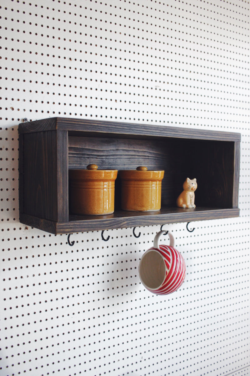 Coffee Cup Crete Shelf