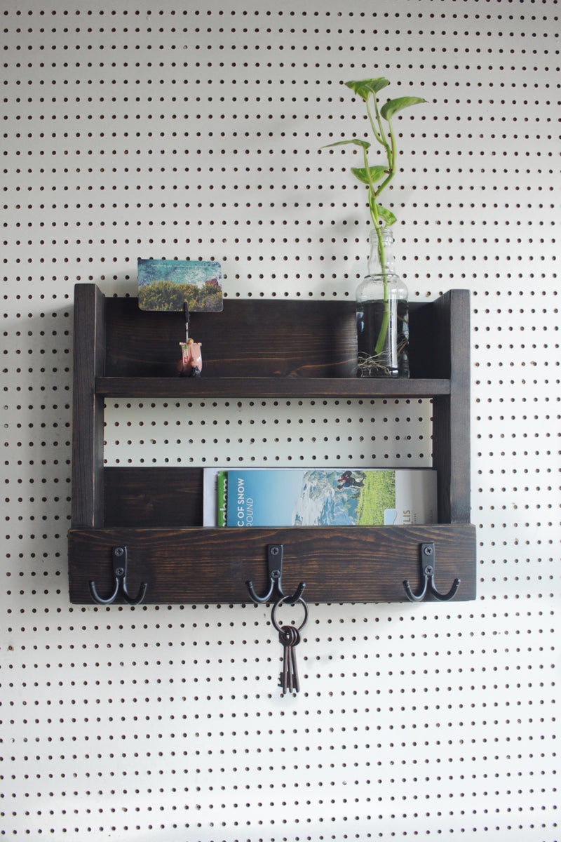 Entryway Key+Mail+Shelf Organiser