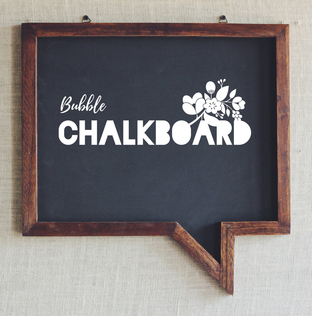 Bubble Chalkboard