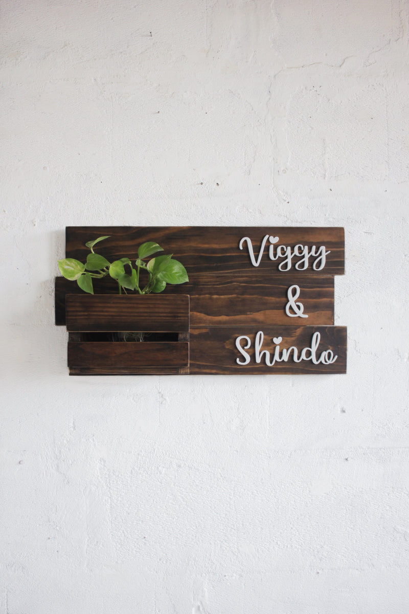 Planter Box Sign