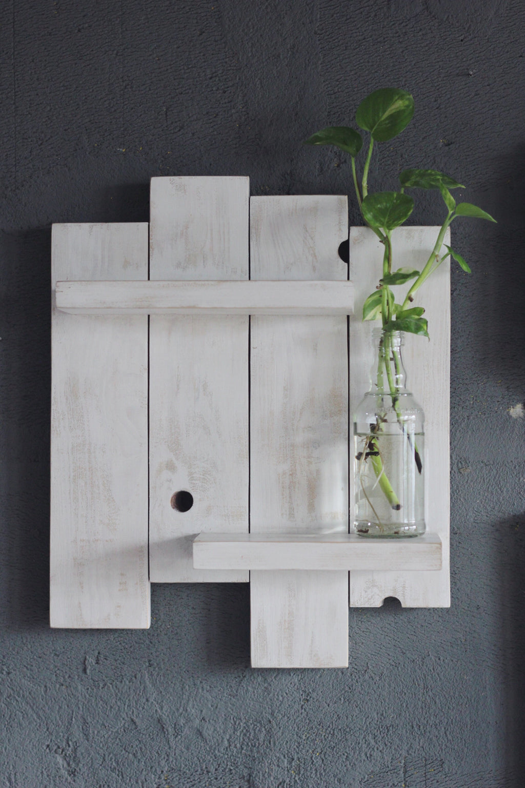 Floating Plank Shelf