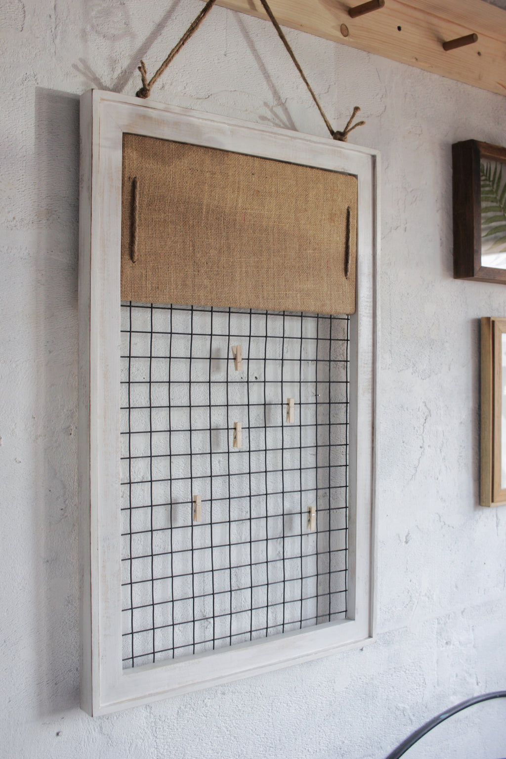 Memo Grid + Detachable Pin Board