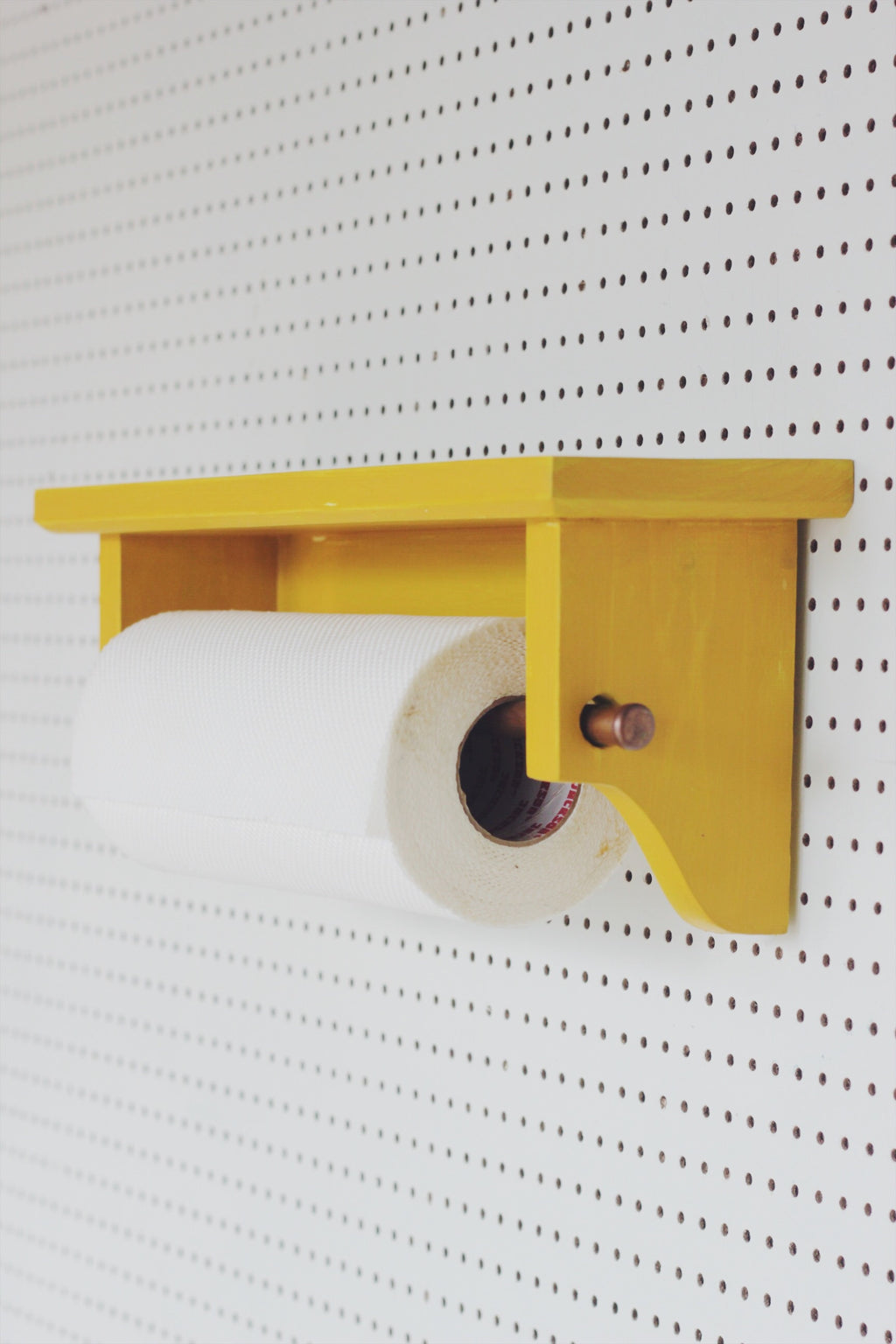 Kitchen Roll Holder + Shelf