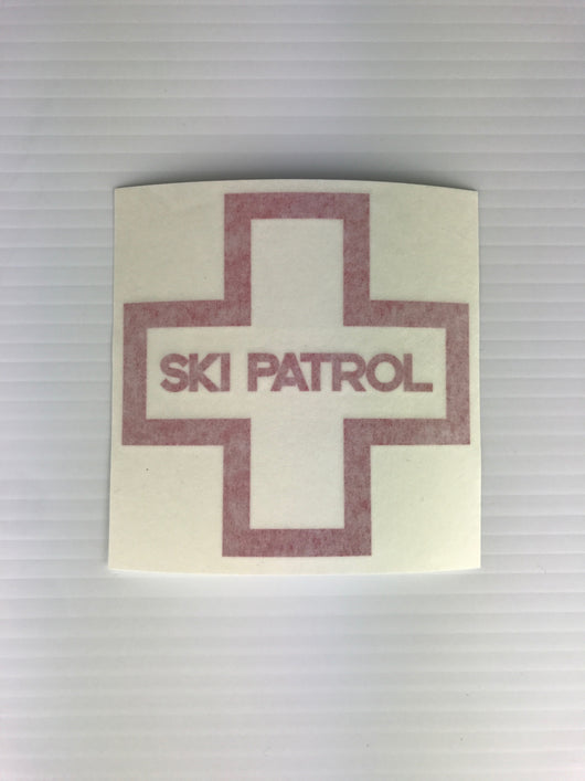 Ski Patrol Sticker 3-Pack