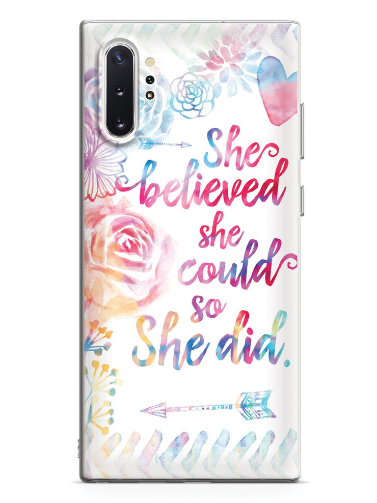 So She Did - White Case - pipercleo.com
