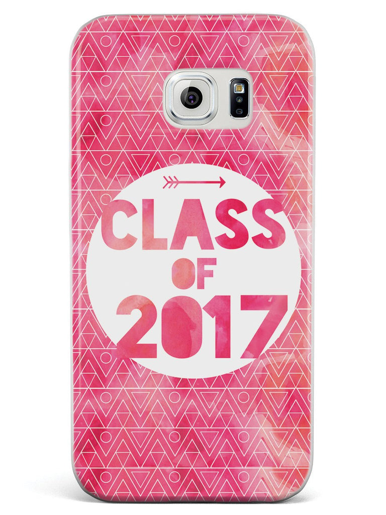 Class of 2017 - Pink Watercolor Case - pipercleo.com