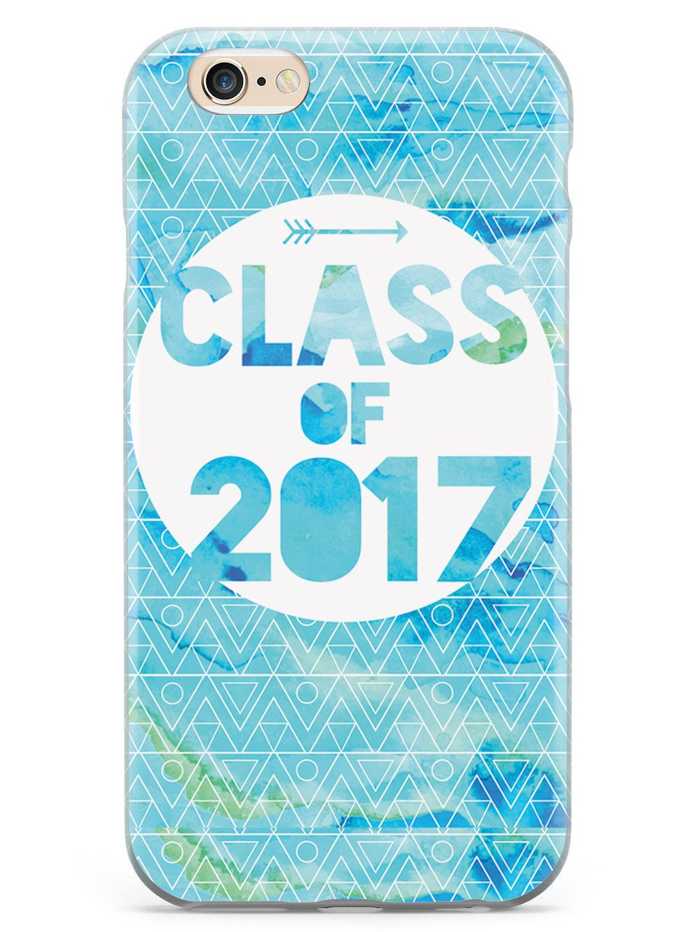 Class of 2017 - Blue Watercolor Case - pipercleo.com