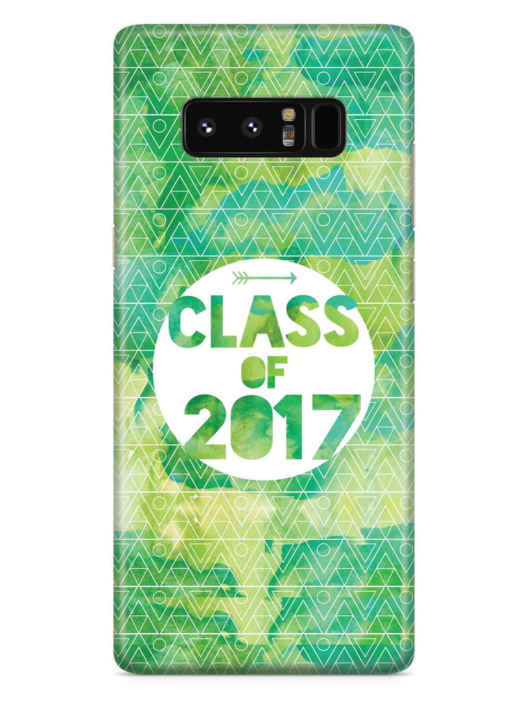 Class of 2017 - Green Watercolor Case - pipercleo.com
