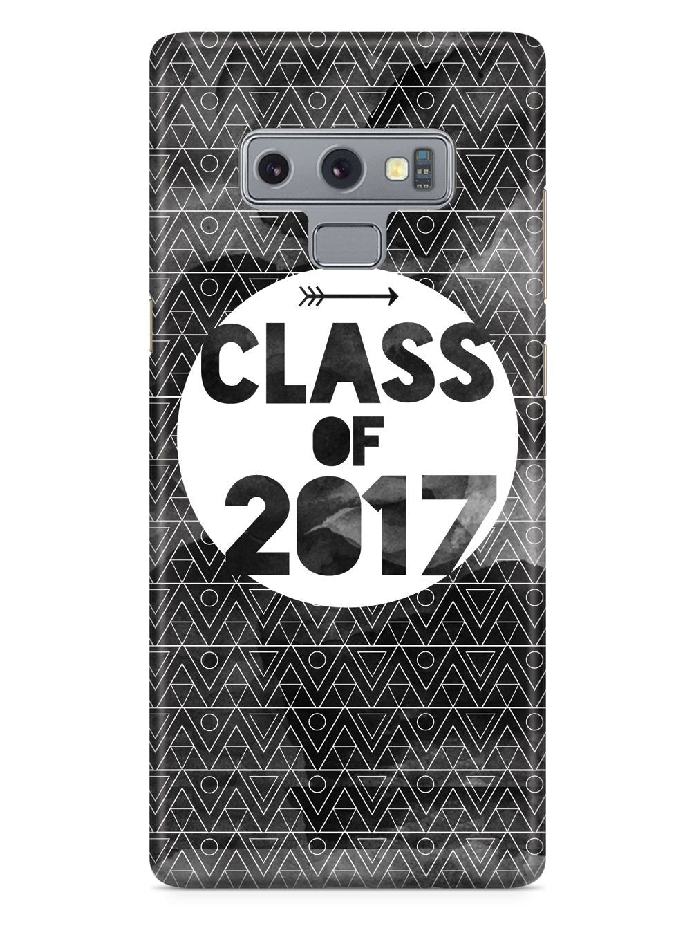 Class of 2017 - Black Watercolor Case - pipercleo.com