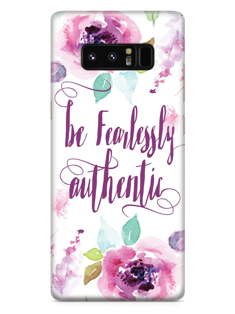 Be Fearlessly Authentic Case - pipercleo.com