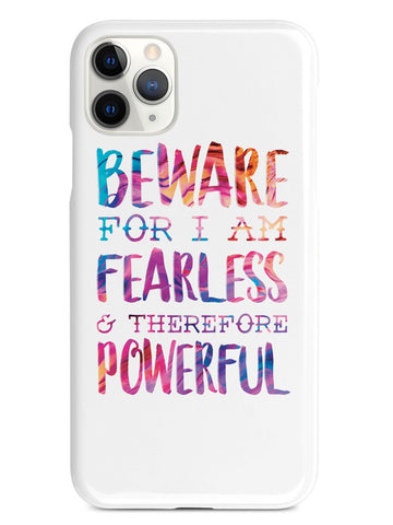Beware For I Am Fearless Case - pipercleo.com