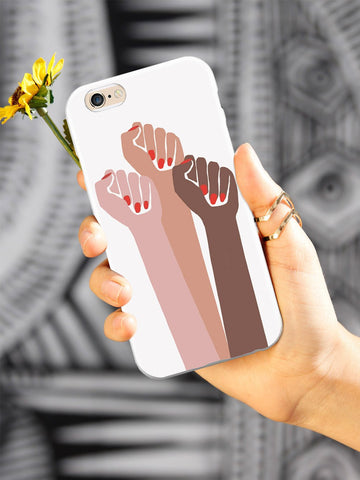 Women Unite! Women's March Solidarity Design - White Case
