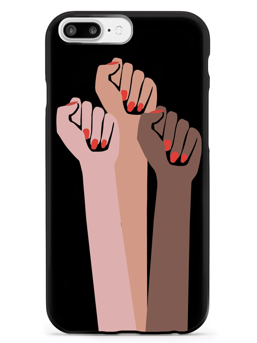 Women Unite! Women's March Solidarity Design - Black Case - pipercleo.com