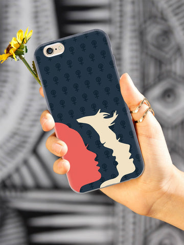 Women's March Logo - White Case