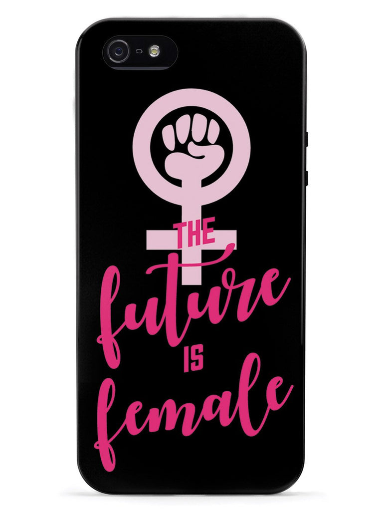 The Future is Female - Black Case - pipercleo.com