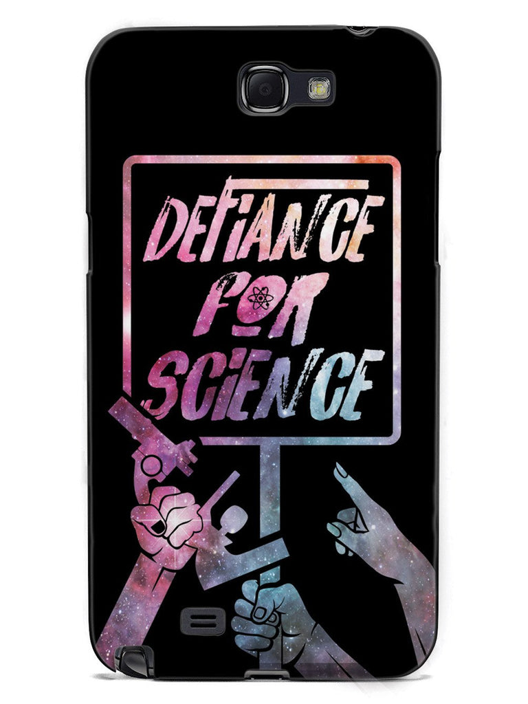Defiance For Science - Space Background Case - pipercleo.com