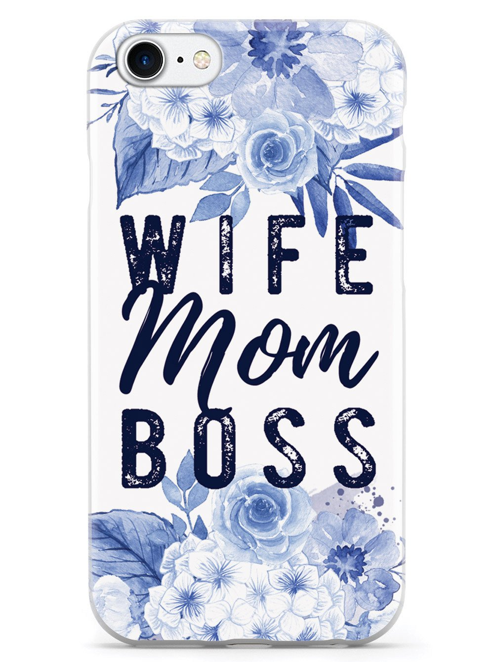 Wife, Mom, Boss - White Case - pipercleo.com