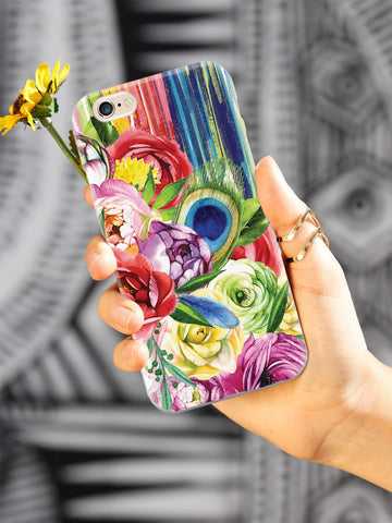 Summer Flower Bouquet Art Case