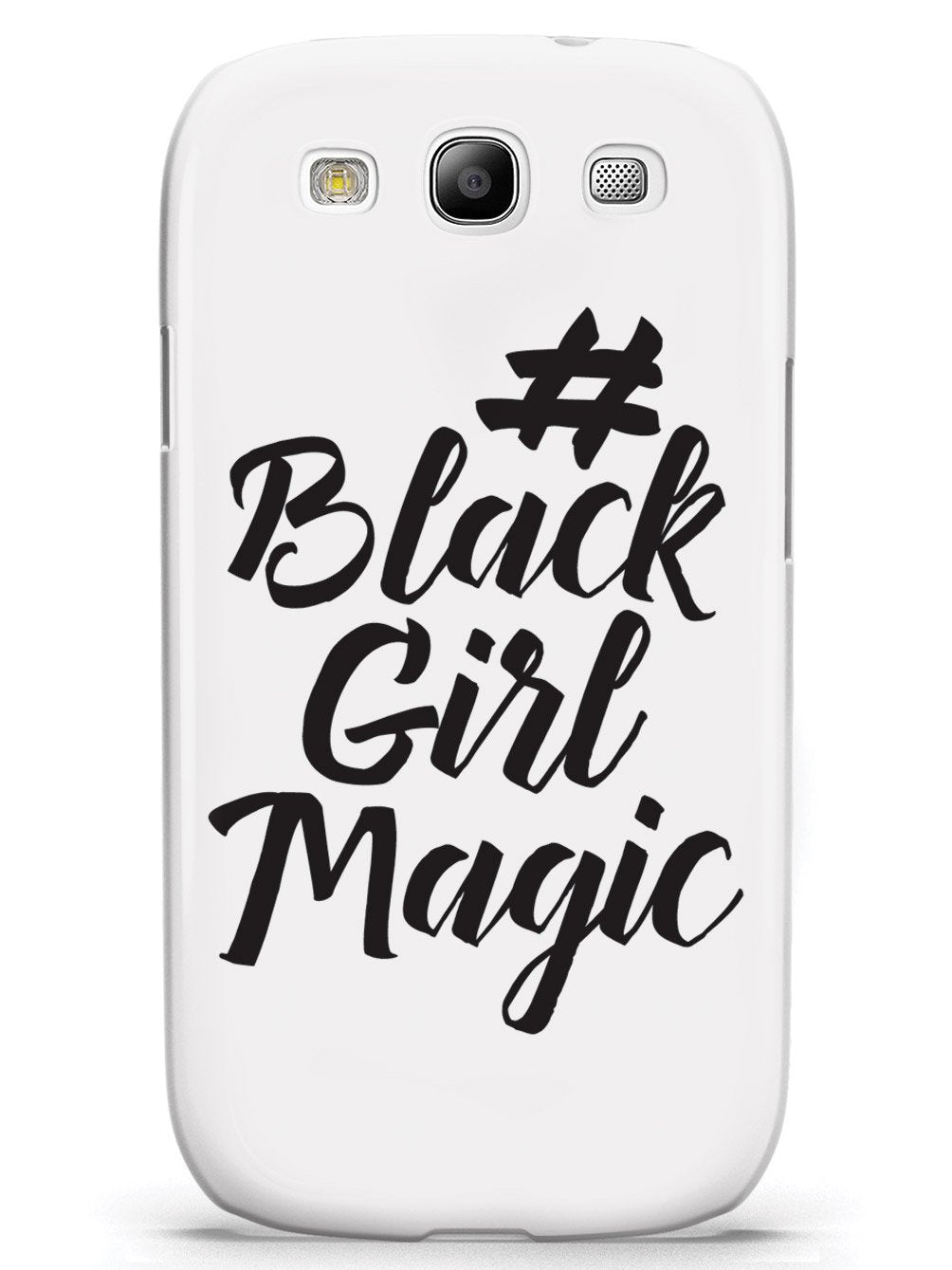 #BlackGirlMagic - White Case - pipercleo.com