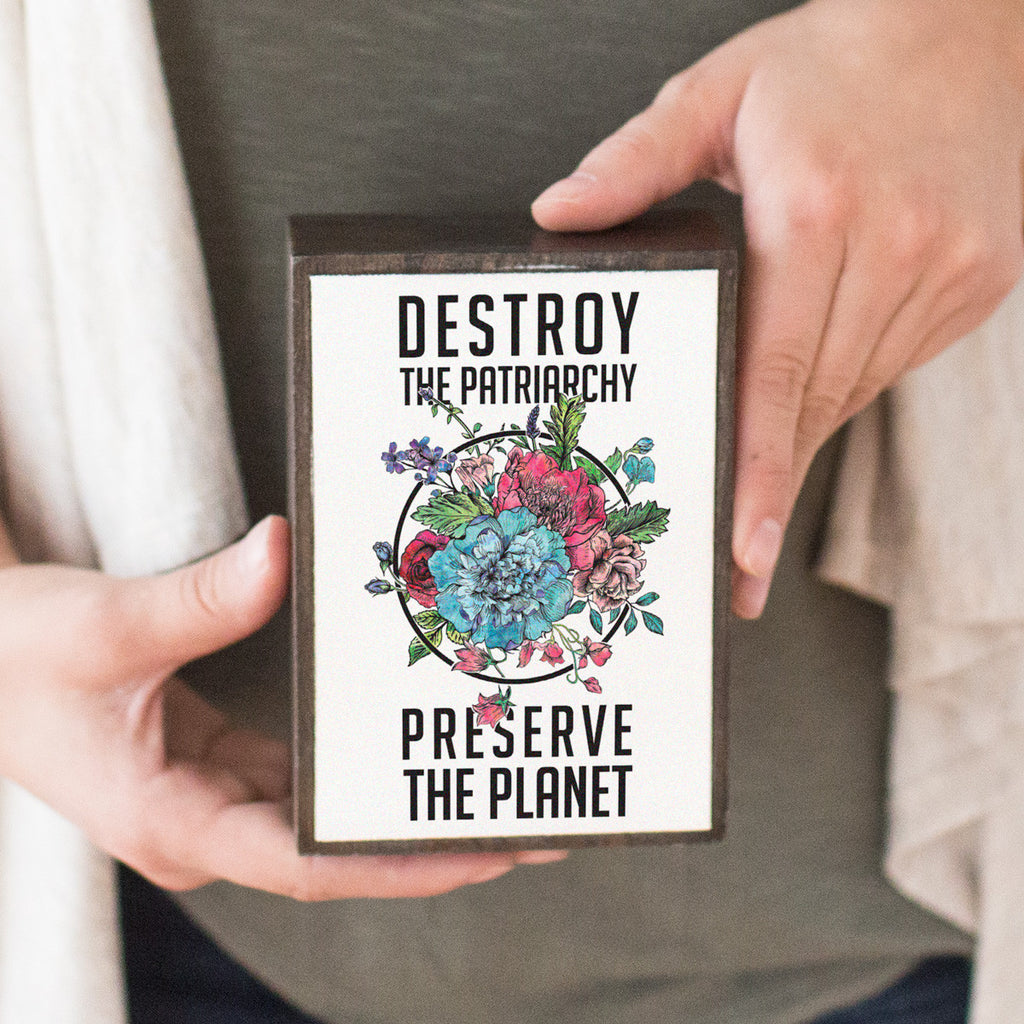 Destroy The Patriarchy Table Top Box - pipercleo.com