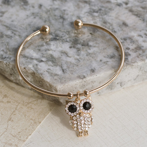 Night Owl Gold Cuff