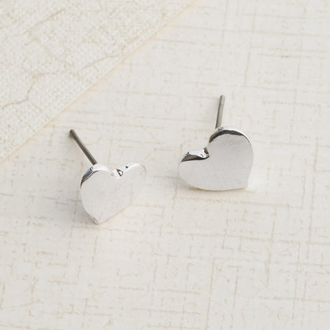 Two Hearts Earrings