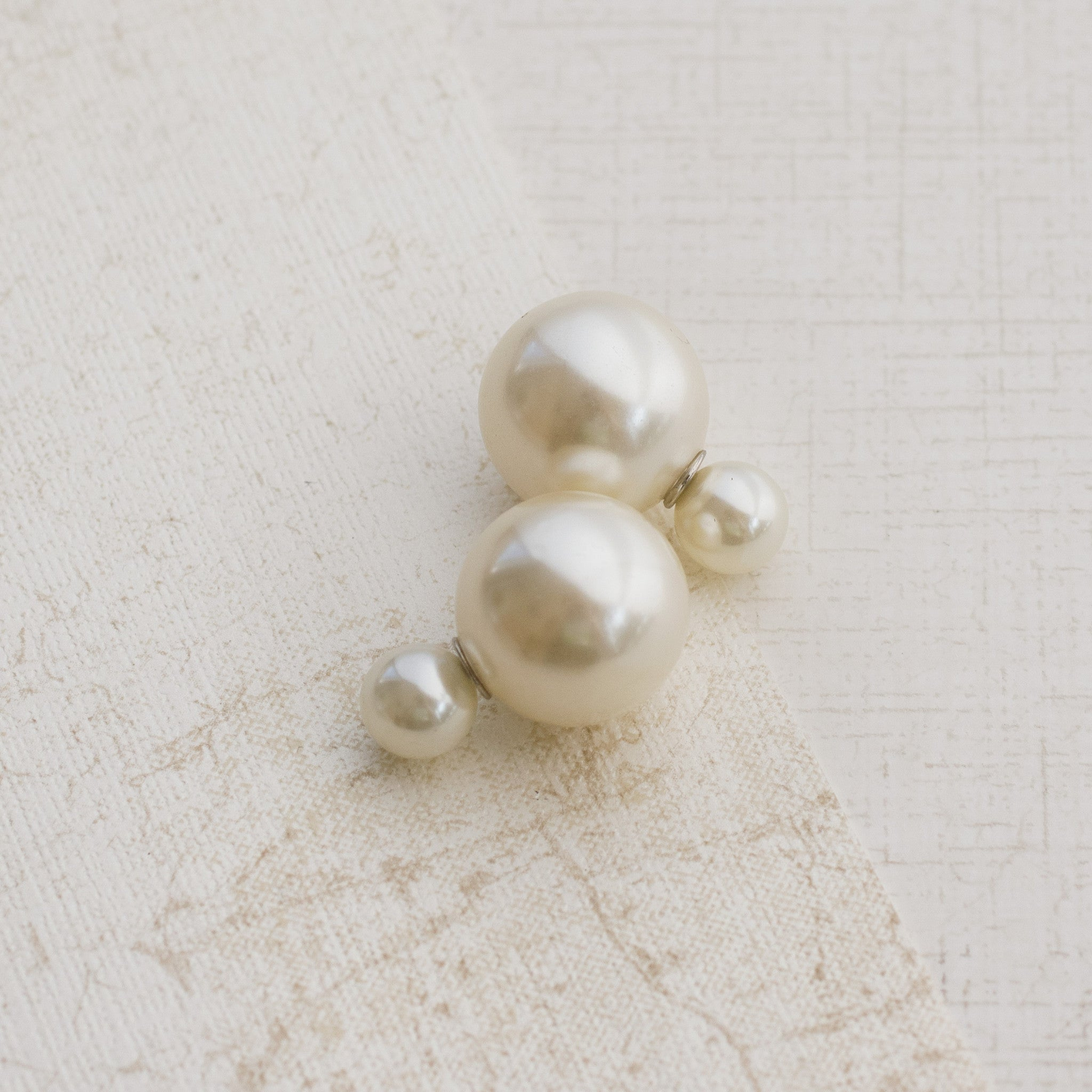 Modern Pearl Silver Earrings - pipercleo.com
