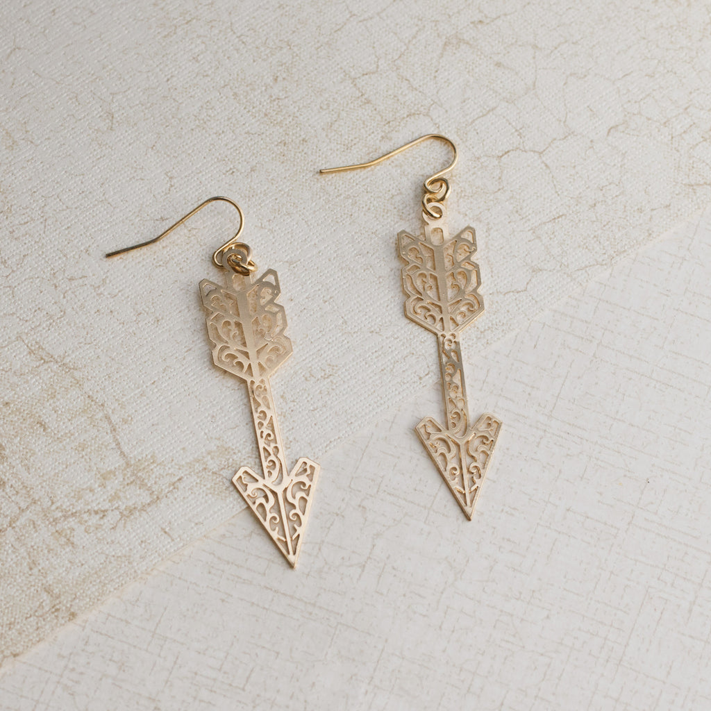 Cupid's Arrows Earrings - pipercleo.com