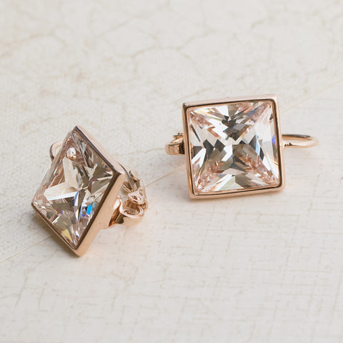 Dear Princess Rose Gold earrings - pipercleo.com