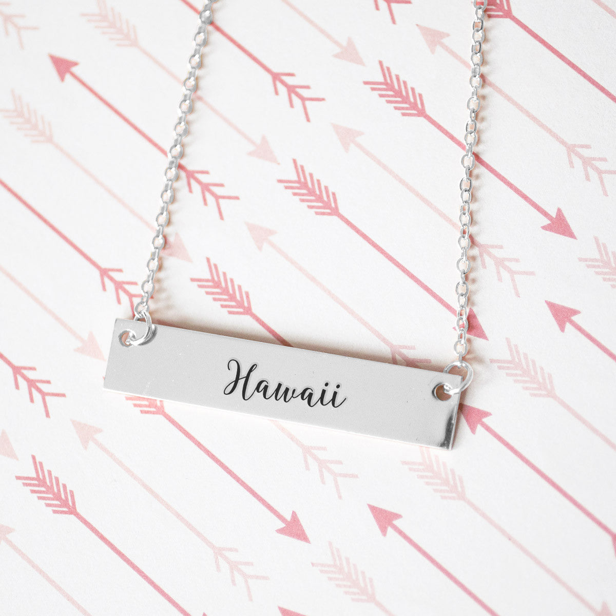 Hawaii Gold / Silver Bar Necklace