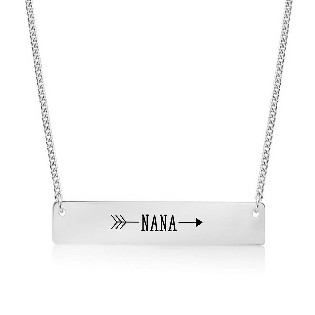 Nana Arrow Gold / Silver Bar Necklace